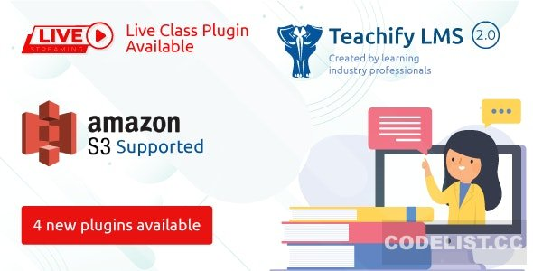 Teachify LMS v2.0 – Powerful Learning Management System