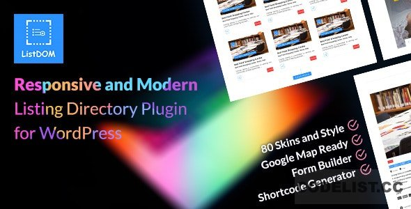 Listdom v1.6.1 – Advanced Directory and Listing Plugin