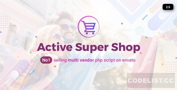 Active Super Shop Multi-vendor CMS v2.5 - nulled