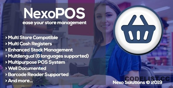 NexoPOS 3.15.56 - Extendable PHP Point of Sale