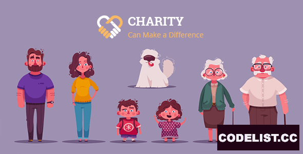 Charity v1.1 - Nonprofit Charity System with Website