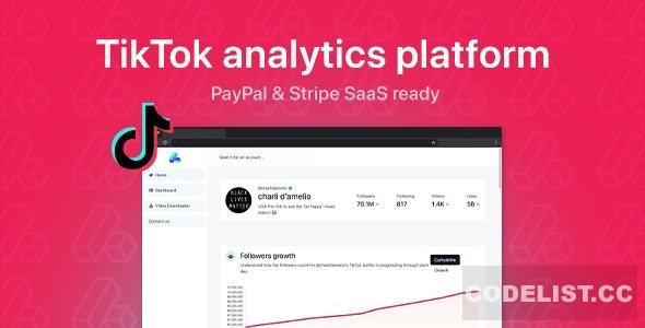 phpStatistics v1.3.1 - TikTok Analytics Platform (SAAS Ready) - nulled