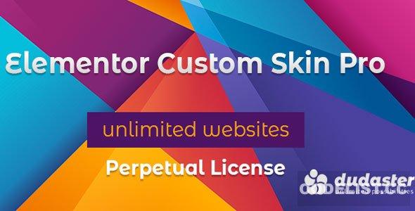 Elementor Custom Skin Pro v3.1.0