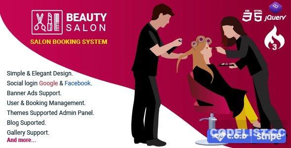 Salon Booking Management System v1.3.0