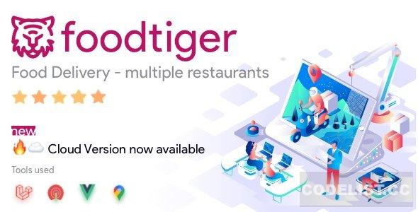 FoodTiger v1.5.0 - Food delivery - Multiple Restaurants