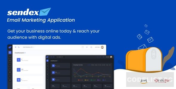 Sendex v1.0 - Email Marketing Application