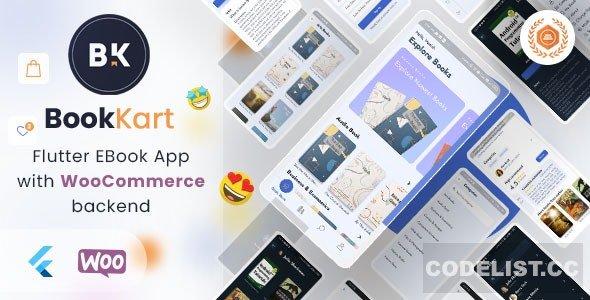 Bookkart v1.0.2 - Flutter Ebook Reader App For WordPress with WooCommerce
