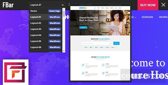 FBar v2.1 - Responsive WordPress Demo Switch Bar Plugin