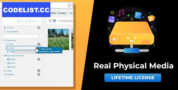 WordPress Real Physical Media v1.3.16 - Physical Media Folders & SEO Rewrites