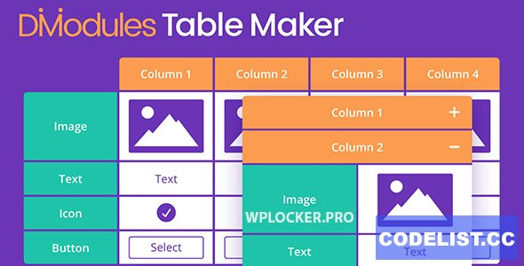 Divi Table Maker Modules v2.0.1