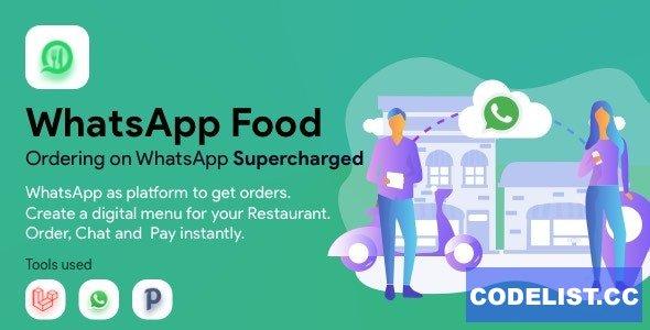 WhatsApp Food v2.1.0 - SaaS WhatsApp Ordering