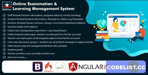 Online Exam and Learning Management System v2.4