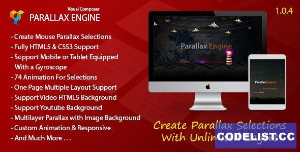 Parallax Engine v1.0.4 - Addon For Visual Composer