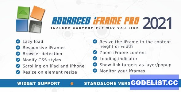 Advanced iFrame Pro v2021