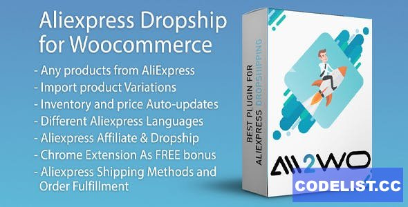 AliExpress Dropshipping Business plugin for WooCommerce v1.14.3