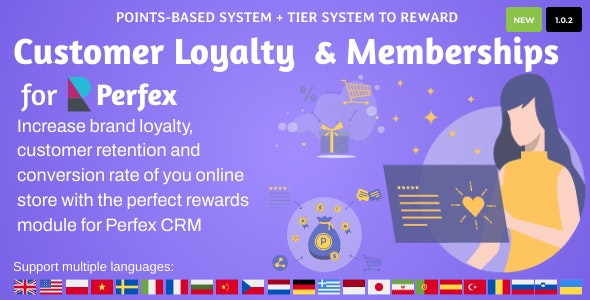 Customer Loyalty and Memberships for Perfex CRM v1.0.2