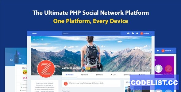 Sngine v3.1 - The Ultimate PHP Social Network Platform - nulled