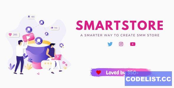 SmartStore v1.1 - SMM Store Script