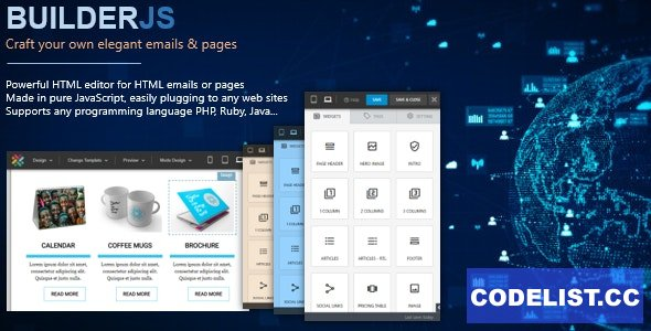 BuilderJS v4.0.6 - HTML Email & Page Builder