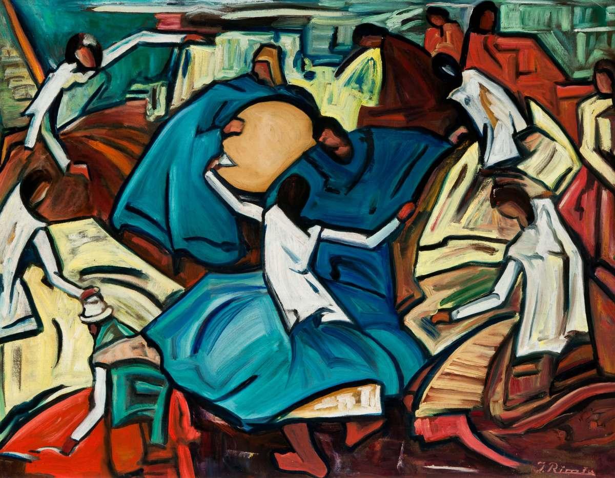 Jonas Rimsa - A Painter From Lithuania