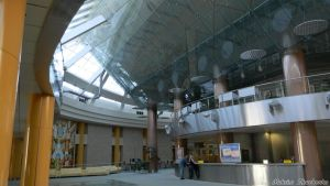 Interior Minsk National Library