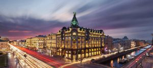 hotel angleterre st petersburg russia