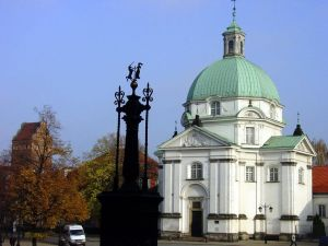 St Casimir Church Warsaw