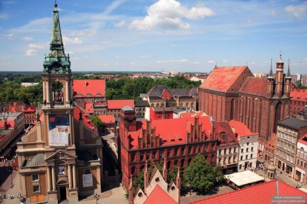 Torun Poland Copernicus and Gingerbread