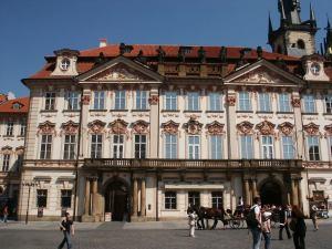 kinsky palace prague czech republic