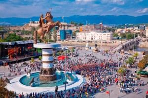 Skopje Capital of Macedonia
