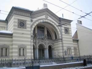 Choral Synagogue Vilnius Jewish Ghetto