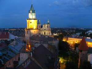 Tower of Trinity Lublin Poland
