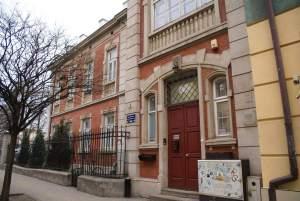 Former Jewish Bathhouse Praga Warsaw