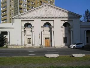 Former Water Chamber Praga Warsaw