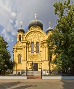 Metropolitan Orthodox St. Mary Magdalene Church Warsaw
