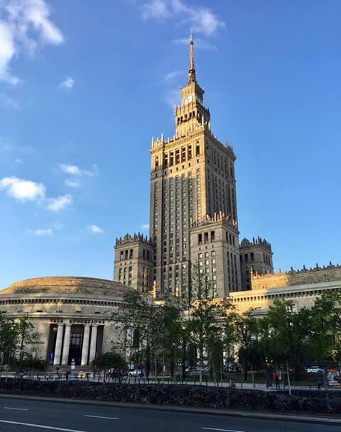 Marshal Street Warsaw
