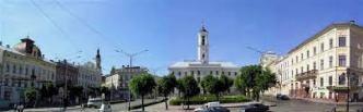 Chernivtsi Central Square
