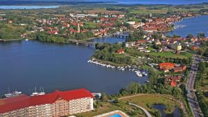 Mikolajki Poland Birdseye View