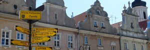 Opole Poland street sign