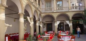 Italian Courtyard Lviv