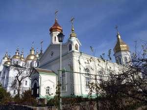 The Exaltation of the Cross Monastery Poltava Side View