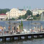 Ternopil Old Castle Water View
