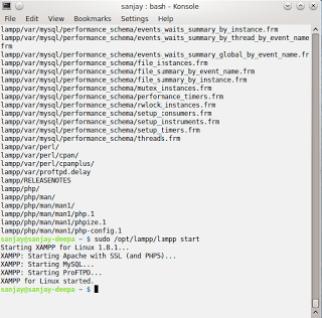 Xampp 1.8 installation