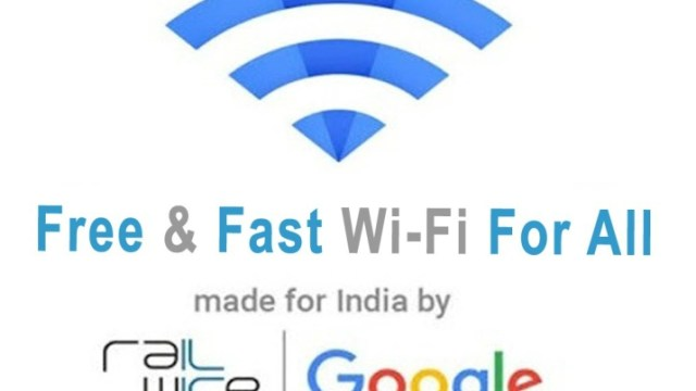 Google provided free Wi Fi at 119 Indian Railway Station