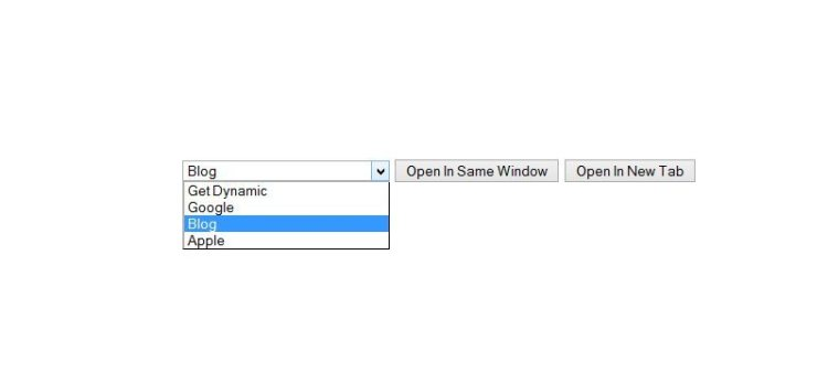 jquery redirect onclick event to a page