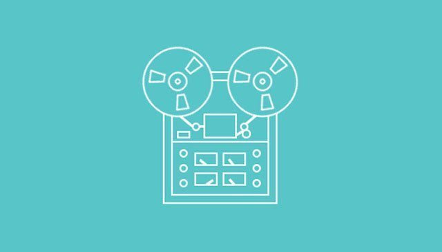 3-tape-recorder-animated-css-html-logo