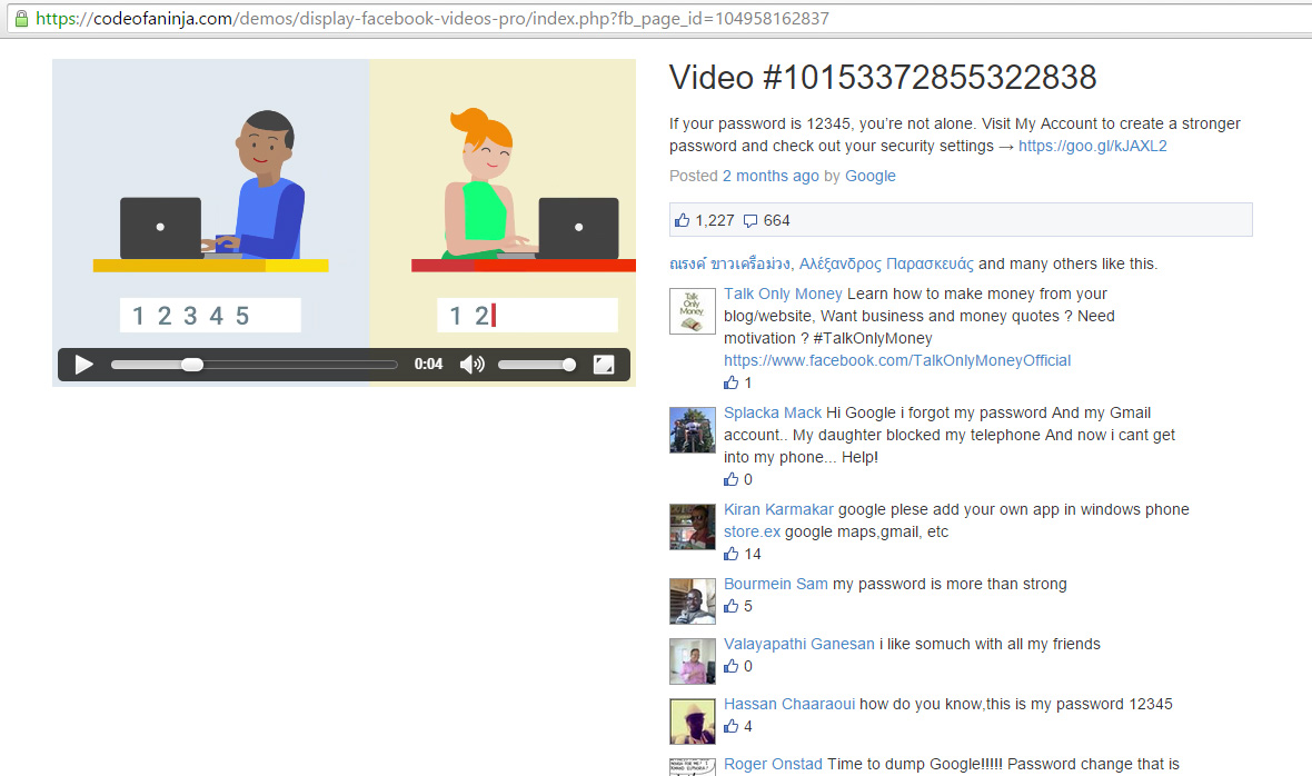 display-fb-videos-pro-demo-screenshot - CodeOfaNinja
