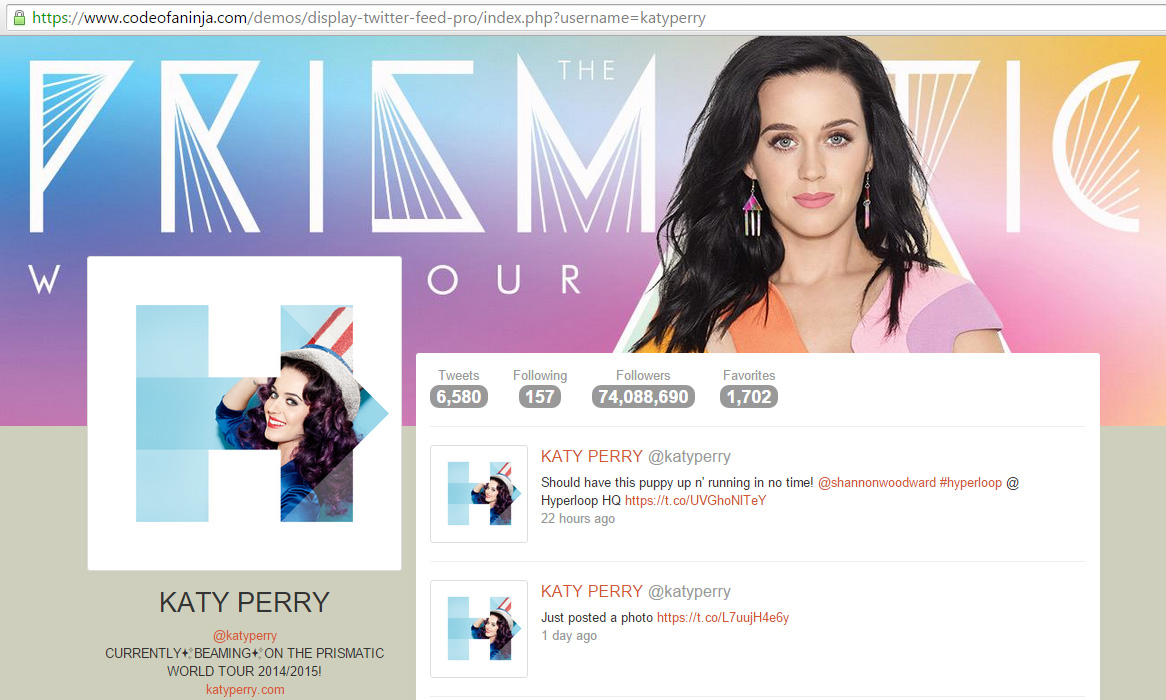 display-twitter-feed-pro-katy