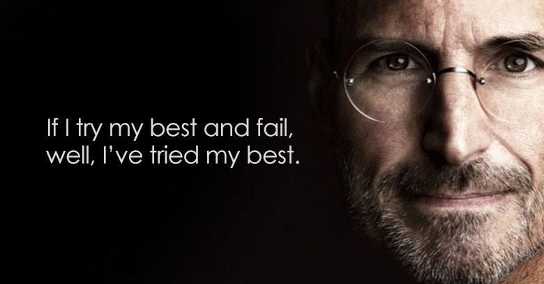 Steve Jobs Winner Quote