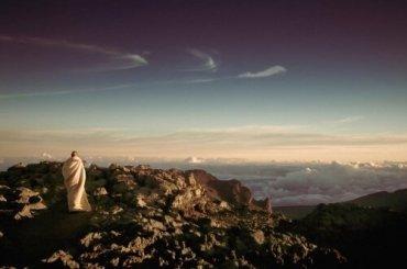 Patient Monk on Mountain